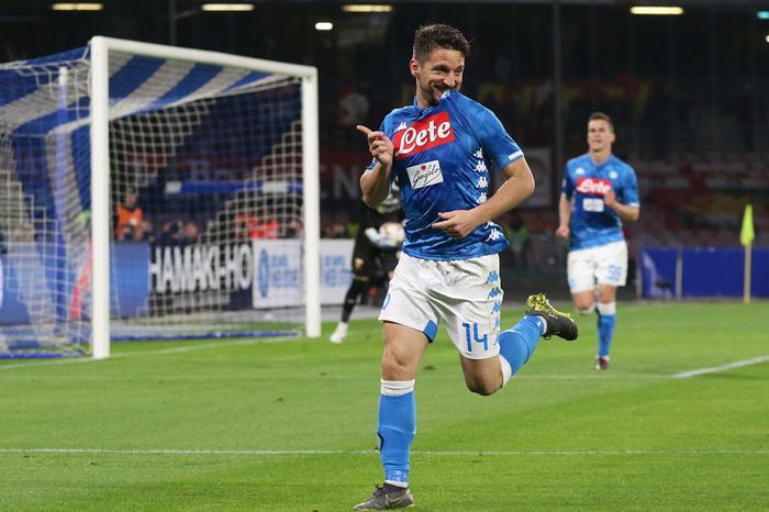 Napoli - Genoa finisce 1- 1: la festa scudetto della Juventus è rinviata