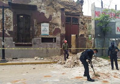 Scossa di terremoto in Messico di magnitudo 7.5: almeno 4 morti