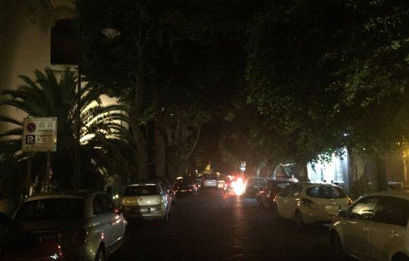 Black out a Messina, interi quartiere al buio