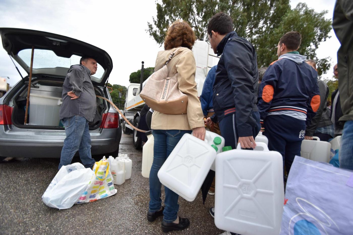Torna l'incubo, Messina di nuovo senz'acqua per un guasto a Fiumefreddo