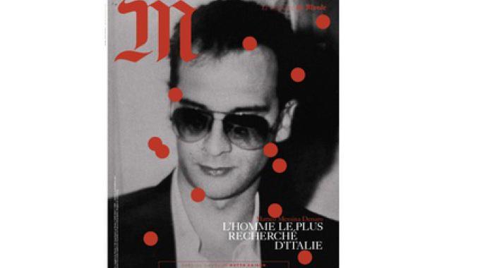 """Il boss Messina Denaro nella copertina del Magazine """"Le Monde"""""""