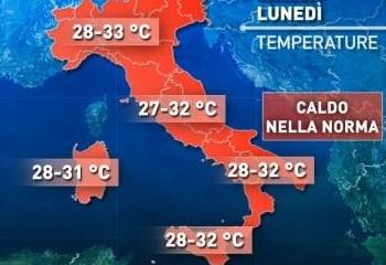Da domani più fresco in Sicilia, ma da venerdì riesplode il grande caldo