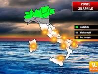 Meteo, sarà un 25 aprile soleggiato in tutto il Centro - Sud