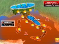 Meteo, Italia nella morsa di Caronte: afa e caldo fino al week end