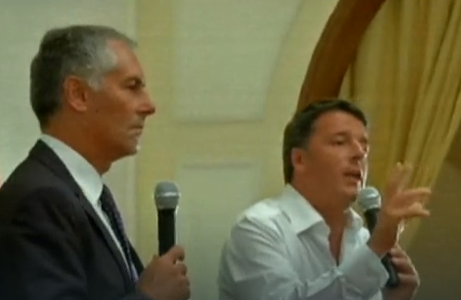 Renzi a Taormina: