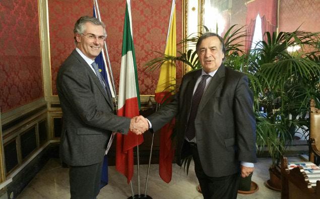 Palermo, Orlando lancia Micari alla Presidenza della Regione