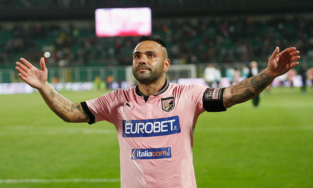Chiesti in Appello 3 anni e 6 mesi per l'ex capitano del Palermo Miccoli per estorsione
