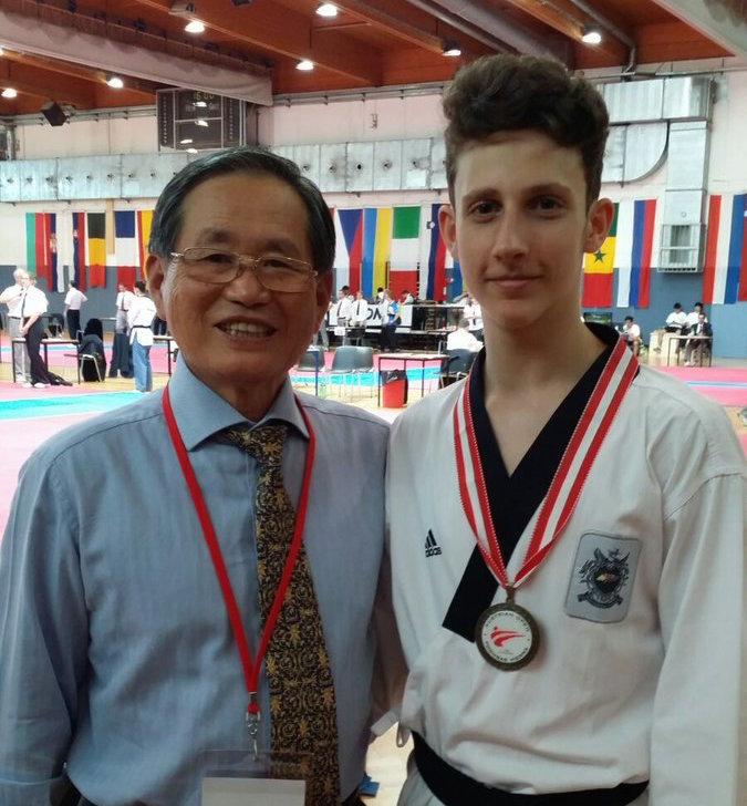 Un palermitano di 17 anni ai mondiali invernali di Taekwondo in Cina
