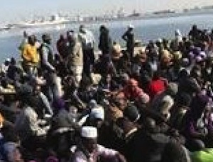 Sbarcati ad Augusta più di mille migranti, fermati due presunti scafisti