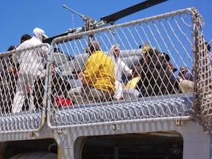 Trapani, scattati respingimenti per 120 migranti