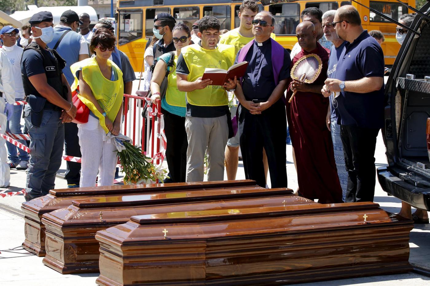 Migranti e 14 cadaveri a Messina, pm chiede 2 ergastoli per gli scafisti