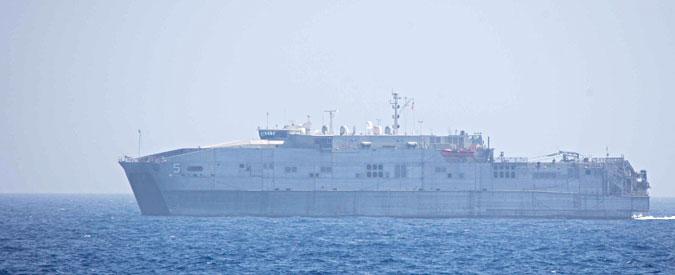 """Migranti: Oim """"nave Usa al largo di Augusta, urgente attraccare"""""""