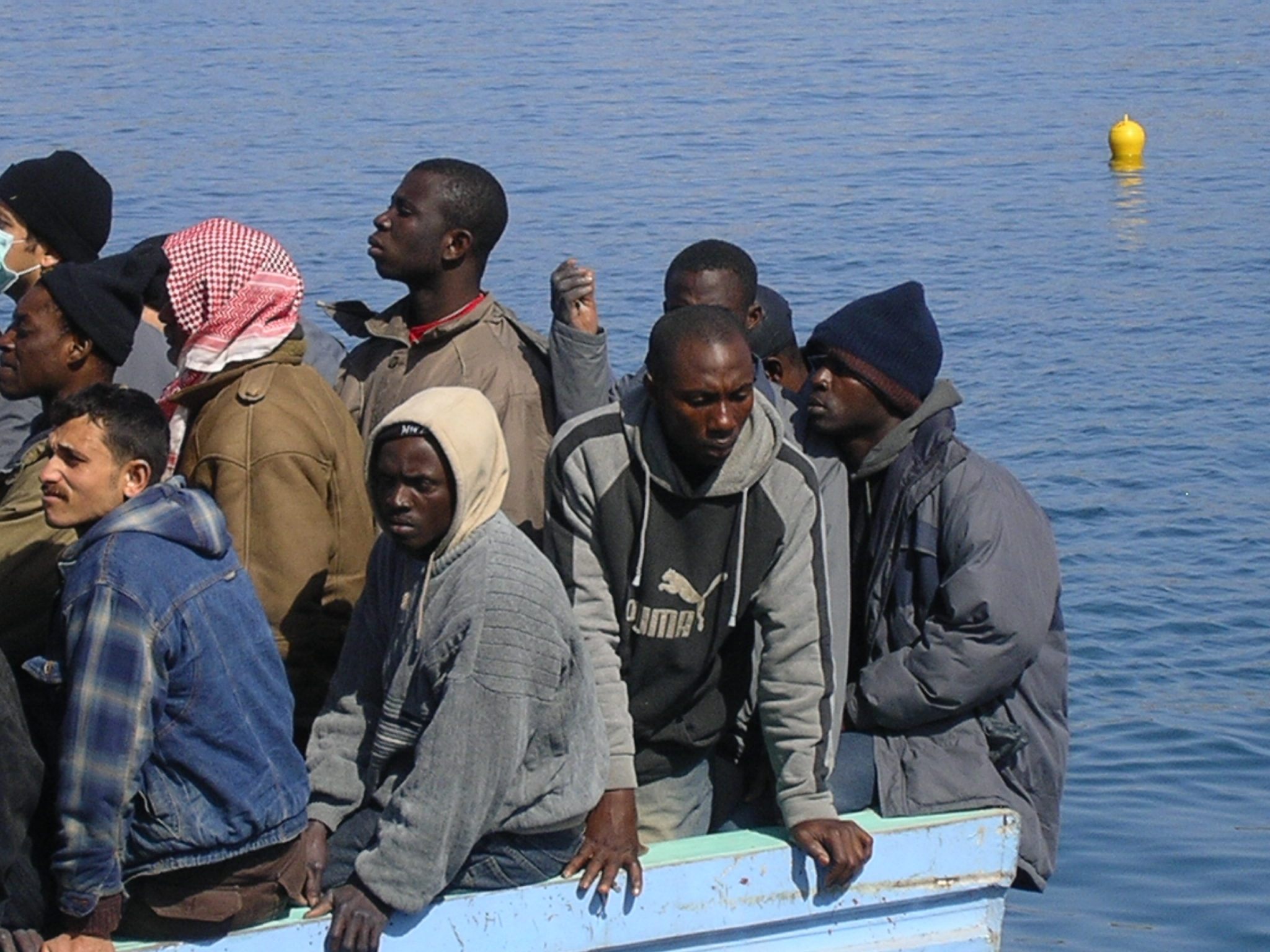Trenta migranti sbarcano nell'Agrigentino com due barche di legno