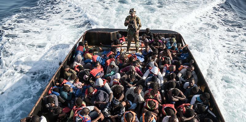 Migranti: sbarco nel Salento, individuate circa 50 persone
