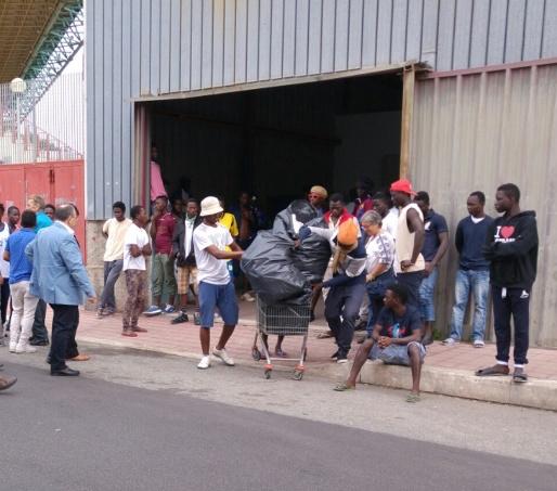 Migranti in protesta a Reggio Calabria, 16 denunce