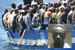 Catania, fermato un presunto scafista per lo sbarco dei 129 migranti