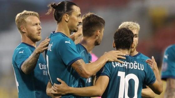 Europa League, il Milan non stecca alla prima: 2 gol allo Shamrock Rovers