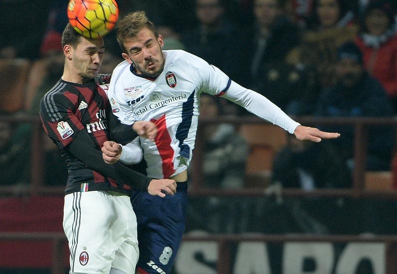 Il Milan batte il Crotone 3 a 1 ai supplementari