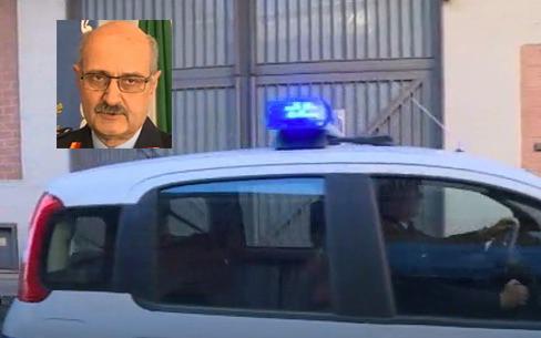 Avvertimento con il fuoco al comandante della polizia municipale di Misterbanco