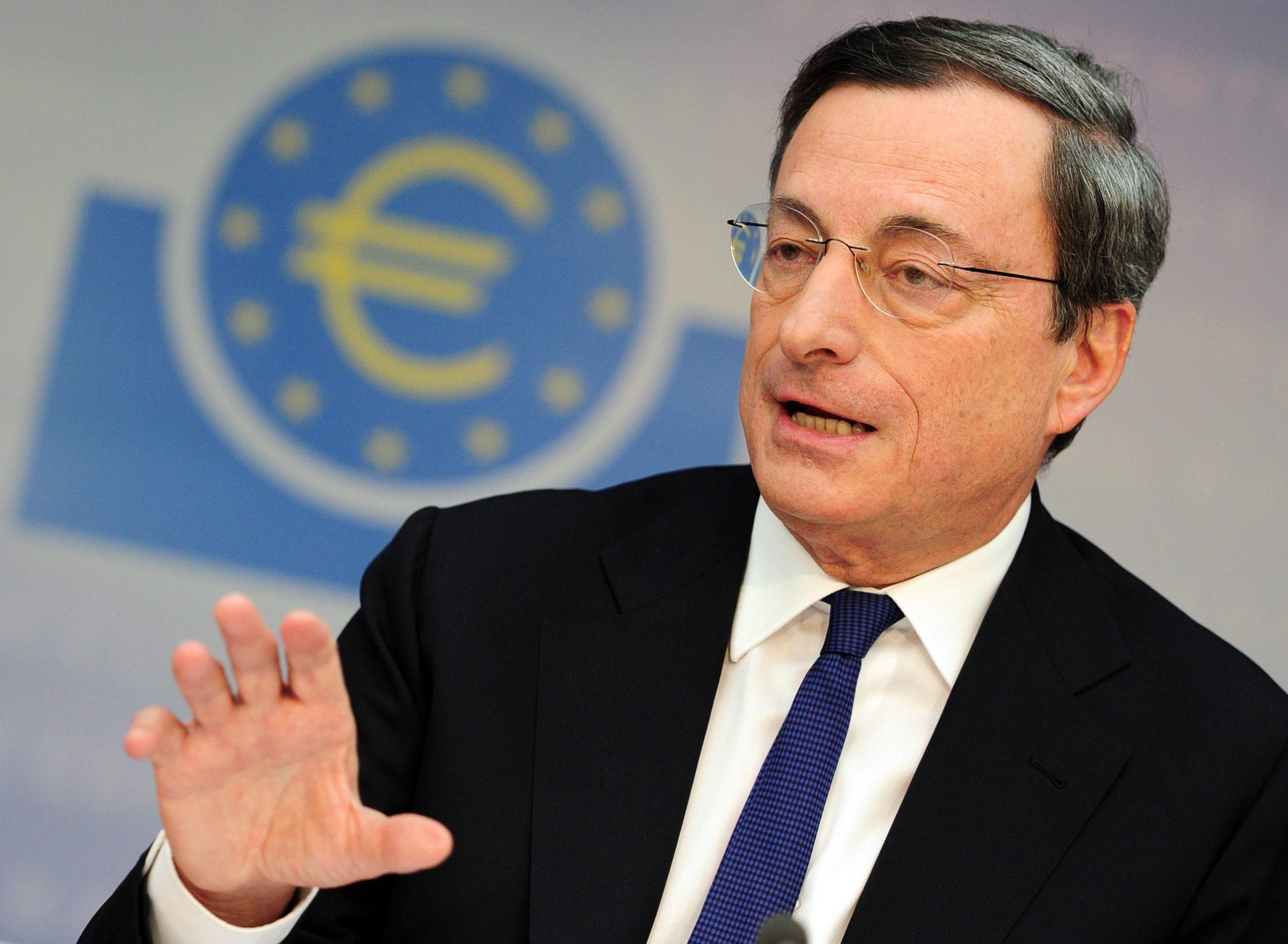 Draghi: le riforme dell'Italia hanno ridotto la disoccupazione