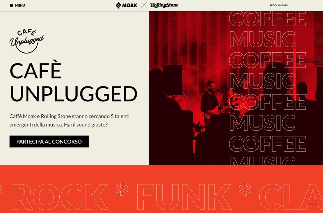 """""""Cafè Unplugged"""": Moak e la rivista Rolling Stone lanciano concorso per musicisti emergenti"""