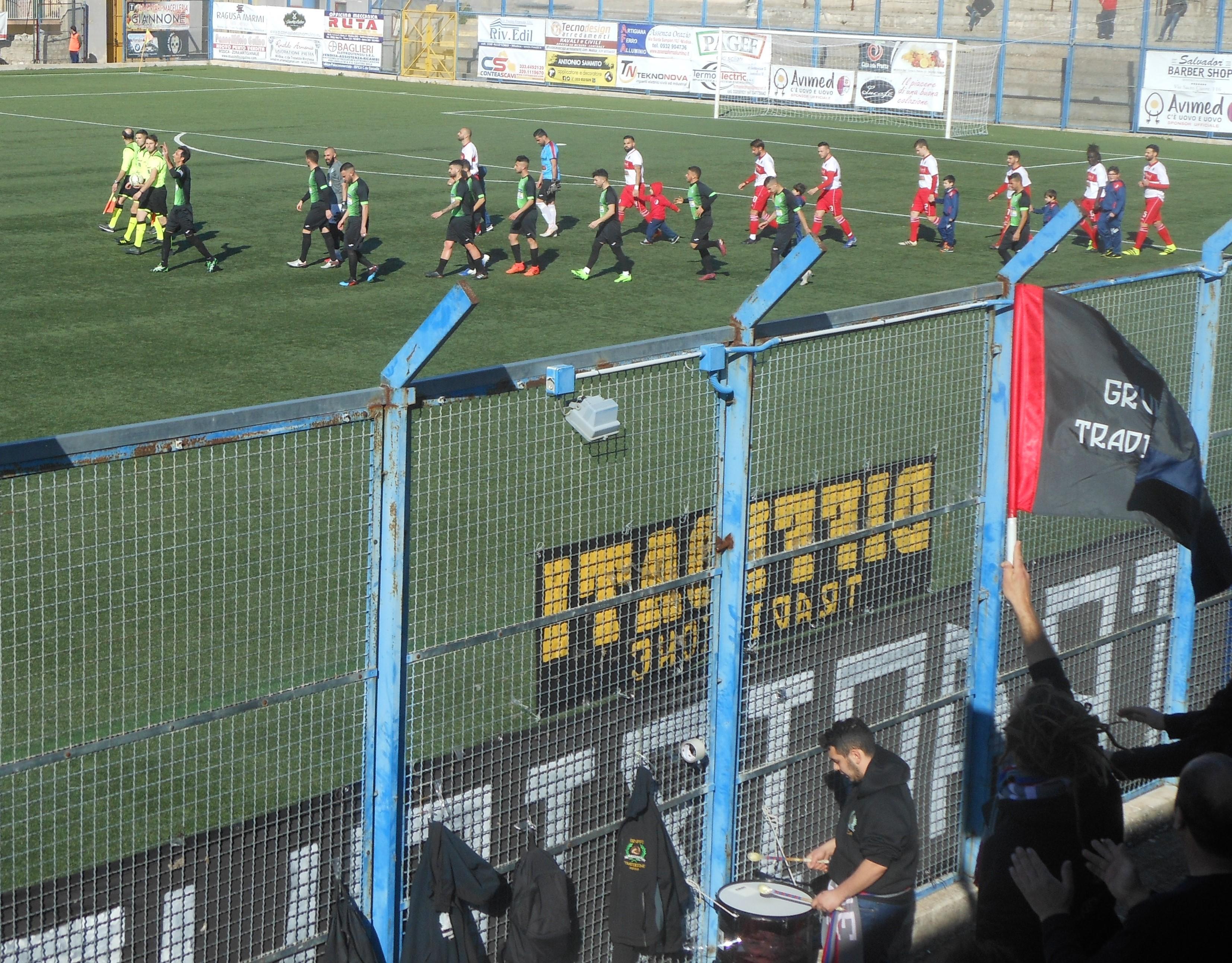 Calcio, Promozione: il Modica batte il Floridia ( 1 a 0 ) e torna in zona play off
