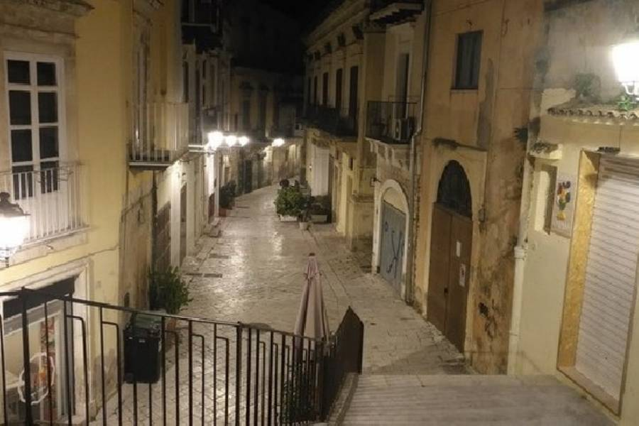 Modica, siglato al Comune l'accordo per il tipo di illuminazione nel centro storico