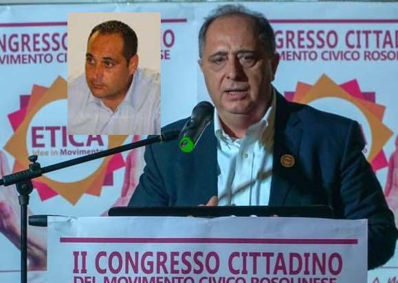 """Rosolini, Gennaro (Etica) a Saro Modica: """"Il seggio non ti appartiene, devi dimetterti"""""""