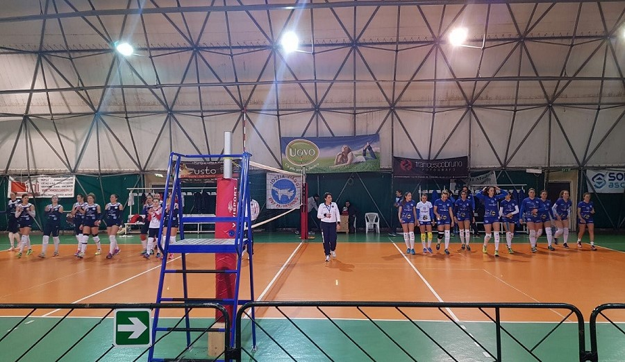 Volley, B2 donne: la Pvt Modica impone lo stop all'Holimpia Paomar Siracusa
