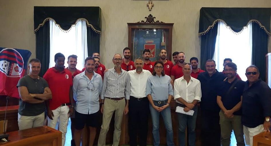 Il Modica Calcio presentato alla città nell'aula consiliare del Comune