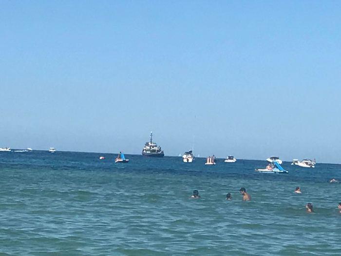 Palermo, diportisti allontanati dalla costa dalla Capitaneria di porto