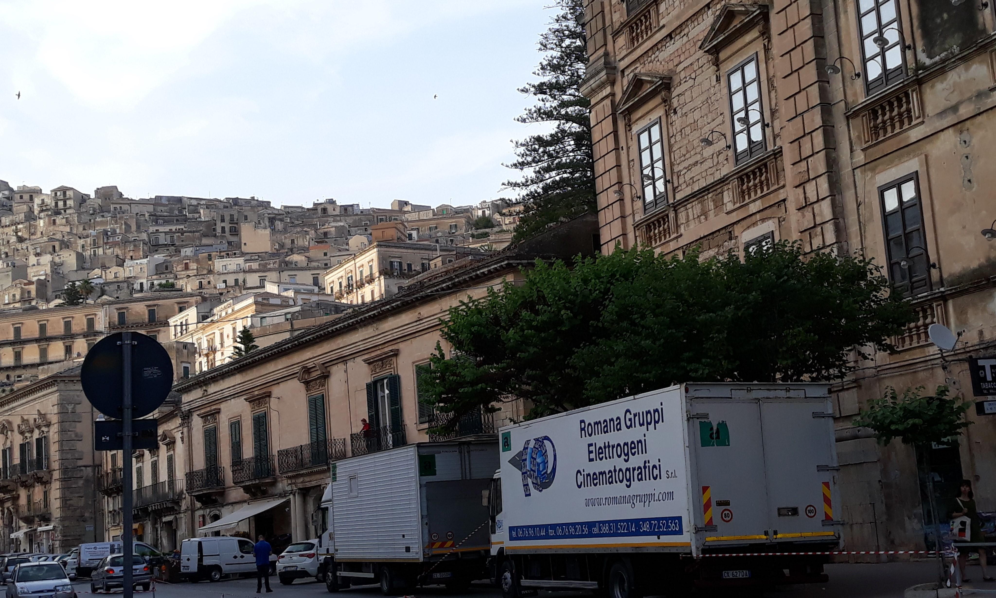 Modica, per il commissario Montalbano altre riprese nel centro storico della città