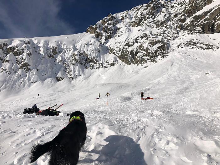 Slavina sul Monte Bianco a 3000 metri di quota:  morti due sciatori