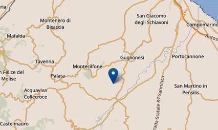 Altro terremoto in Molise di magnitudo 5.1: epicentro Montecifone