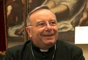 Il cardinale Francesco Montenegro venerdì a Floridia in chiesa Madre