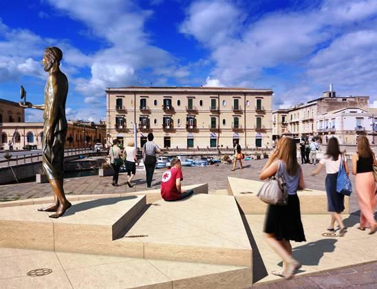 Siracusa, iniziative collaterali all'inaugurazione del monumento di Archimede