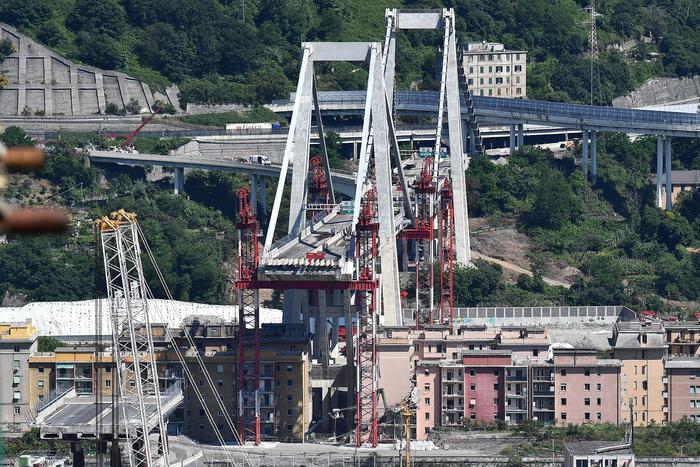 Impresa in odore di camorra a Genova per il ponte Morandi: due arresti
