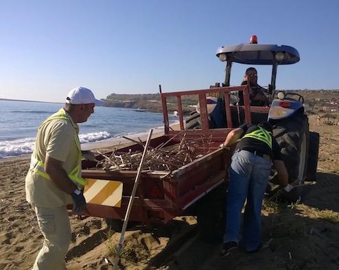 Pulizia spiagge, interventi da Marzamemi a Granelli