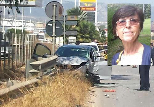 Schianto a Siracusa in contrada Targia, muore una donna di Priolo