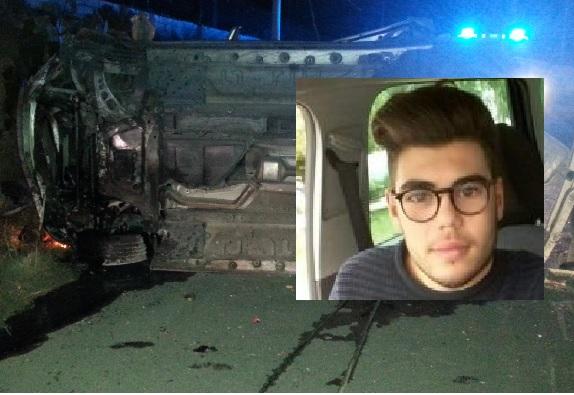 Morto un ragazzo di Carlentini e arresto per omicidio stradale