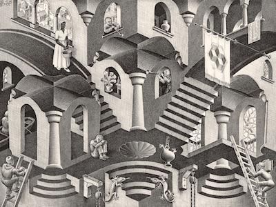 Catania, le opere di Maurits Cornelis Escher in mostra