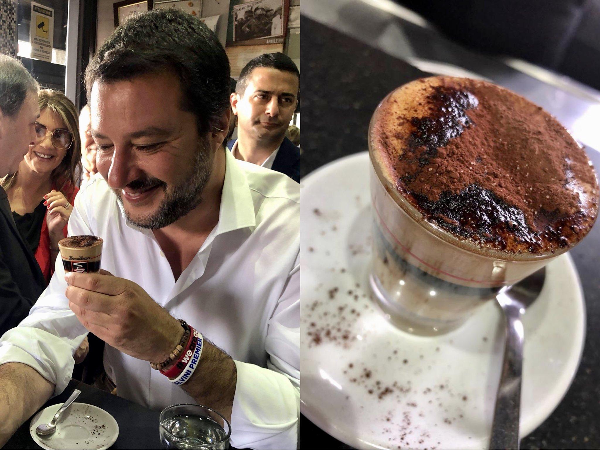 """Salvini a Motta Sant'Anastasia: """"Arata? L' ho incontrato una volta sola"""""""