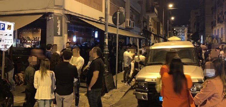 Misure di contenimento, chiusi 4 locali della Movida a Palermo