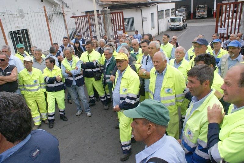 Netturbini di Cosenza in sciopero per il mancato pagamento degli stipendi