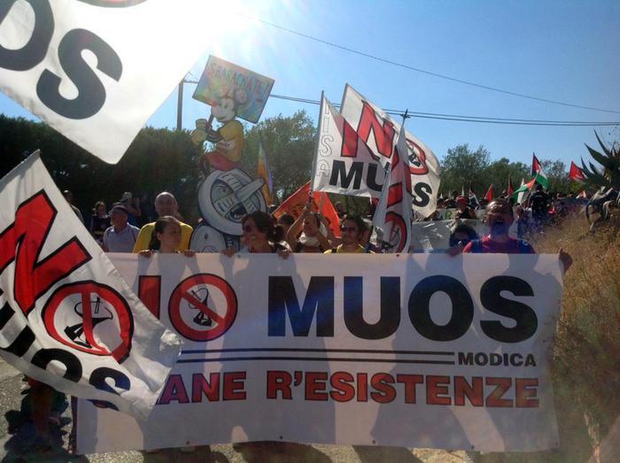Muos di Niscemi, nuovi lavori: ricomincia la protesta
