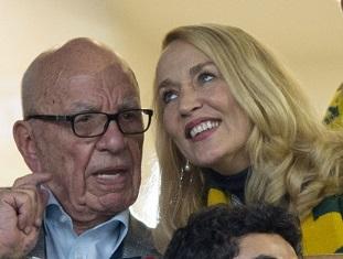 Rupert Murdoch sposerà la modella americana Jerry Hall
