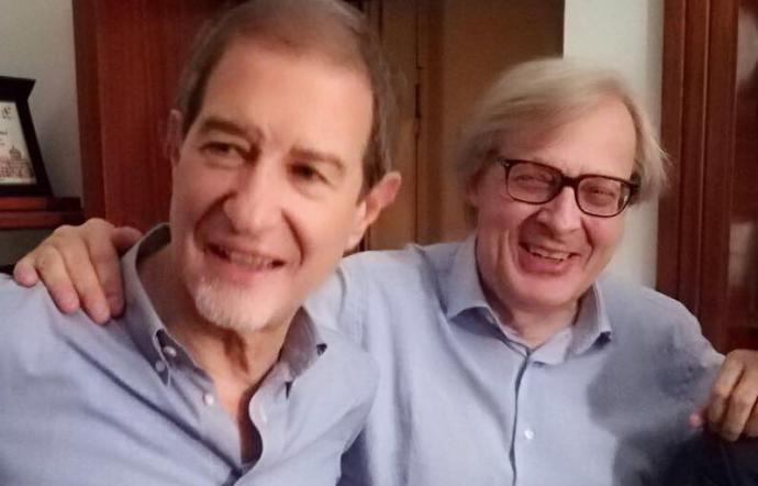 """Regione, Sgarbi a Musumeci: """"Tradito patto tra galantuomini"""""""