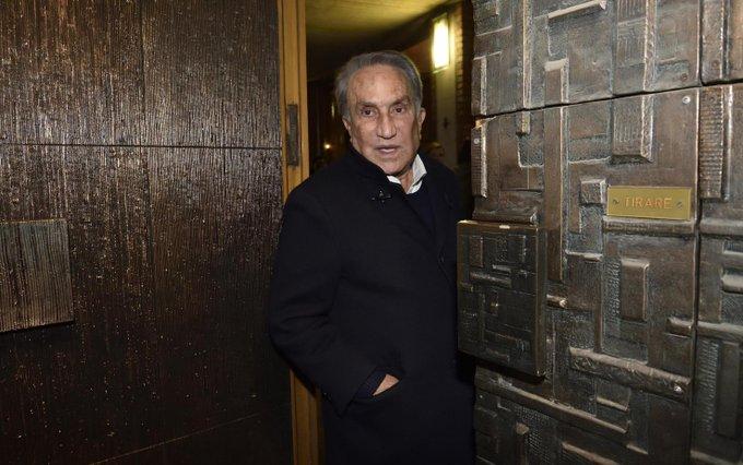Emilio Fede arrestato a Napoli per evasione dai domiciliari