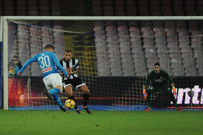 Insigne porta il Napoli ai quarti di finale di Coppa Italia: Udinese ko