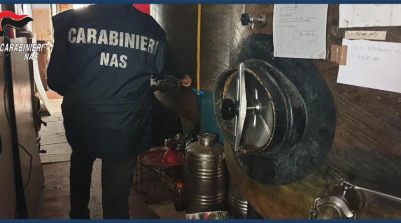 Messina, ispezione del Nas in deposito alimenti: attività sospesa